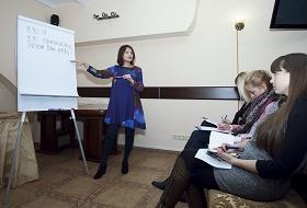 Людмила Богуш-Данд в Клубе Аллы Янсонс