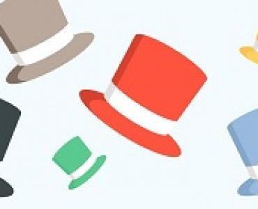 """Как стать эффективным? Техника: """"Шесть шляп мышления"""""""